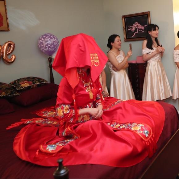 Dresses Chinese Traditional Wedding Dress Poshmark